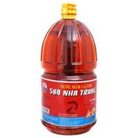 Nước mắm cá cơm 584 Nha Trang chai 2lít