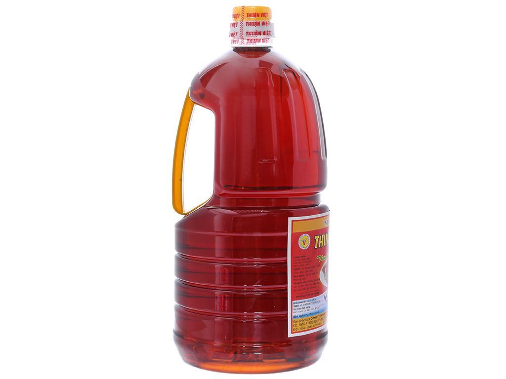 Nước chấm Thuận Việt 10 độ đạm bình 2 lít 2
