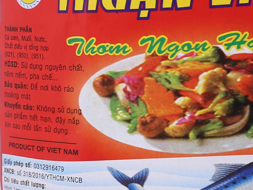 Nước chấm Thuận Việt 10 độ đạm bình 2 lít 4