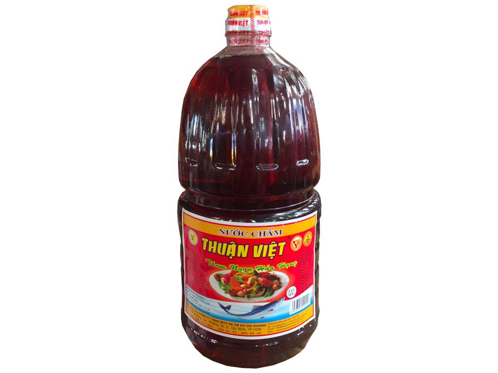 Nước chấm Thuận Việt 10 độ đạm bình 2 lít 1