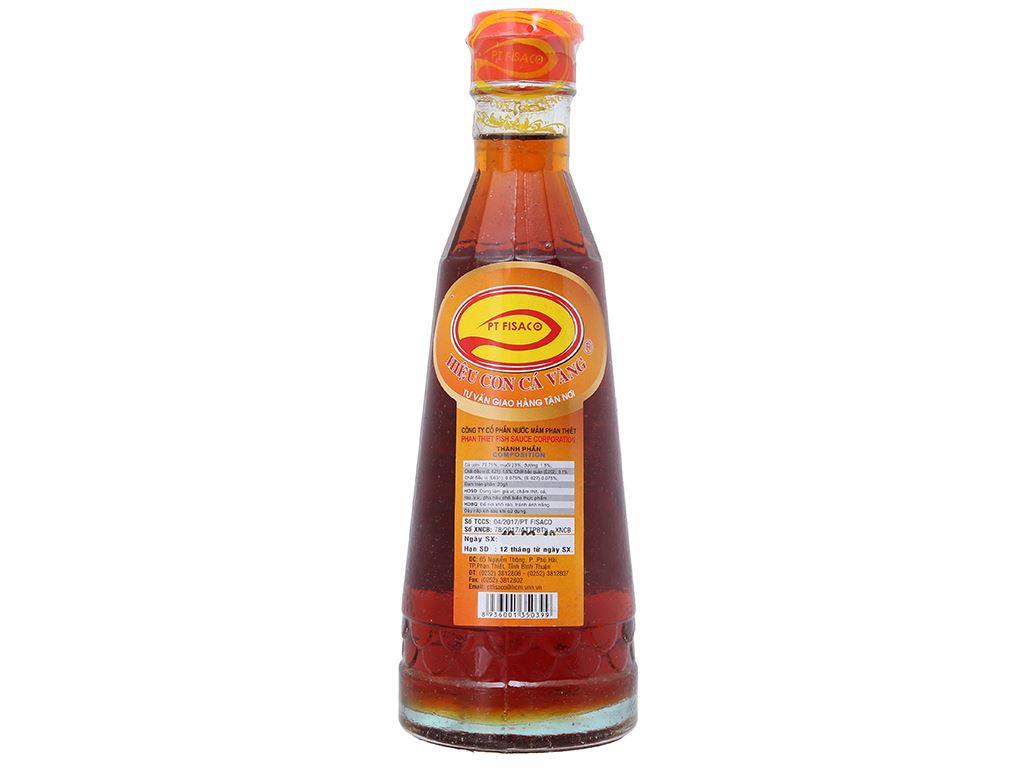Nước mắm Phan Thiết nguyên chất cá cơm Nhị Lộc Fisaco 20 độ đạm chai 320ml 2