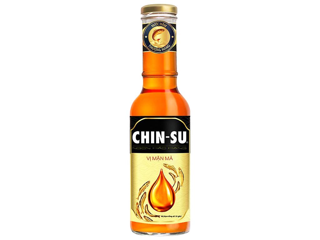 Nước mắm thượng hạng Chinsu Vị mặn mà chai 500ml 1