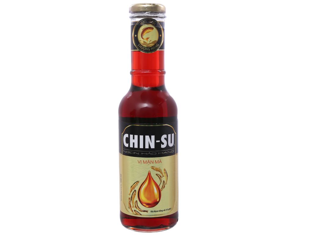 Nước mắm Chinsu thượng hạng vị mặn mà chai 500ml 1