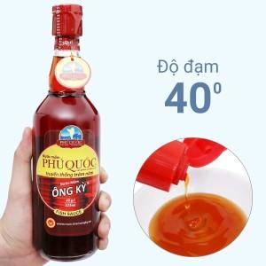 Nước mắm Phú Quốc Ông Kỳ 40 độ đạm chai 525ml