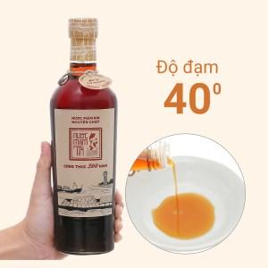 Nước mắm Rin nguyên chất Tĩn 40 độ đạm chai 500ml