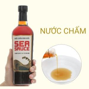 Nước chấm rong biển Sea Sauce Tĩn chai 500ml