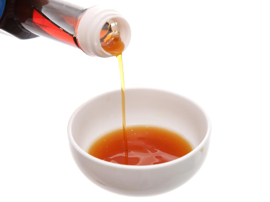 Nước mắm cá cơm siêu hạng Hồng Hạnh 35 độ đạm chai 1 lít 4