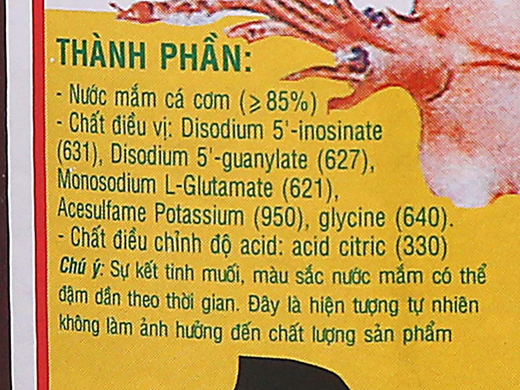 Nước mắm cá cơm siêu hạng Hưng Thịnh 35 độ đạm chai 620ml 3