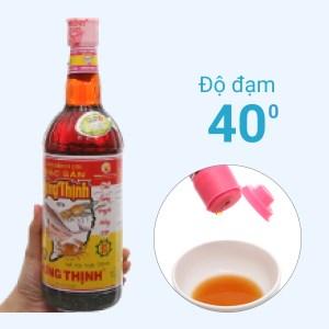 Nước mắm cá cơm đặc sản Hưng Thịnh 40 độ đạm chai 750ml