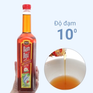 Nước mắm Nam Ngư 10 độ đạm chai 750ml