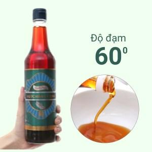 Nước mắm cá cơm Hạnh Phúc 60 độ đạm chai 500ml