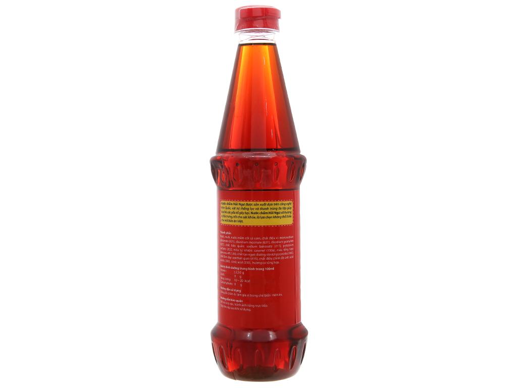Nước chấm Hải Ngư Miwon chai 650ml 2