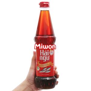 Nước chấm Hải Ngư Miwon chai 650ml