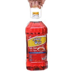 Nước mắm ngon Hưng Việt 10 độ đạm bình 2 lít