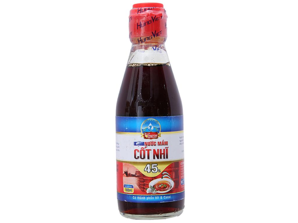 Nước mắm cốt nhĩ 45% Việt Nhĩ chai 180ml 1