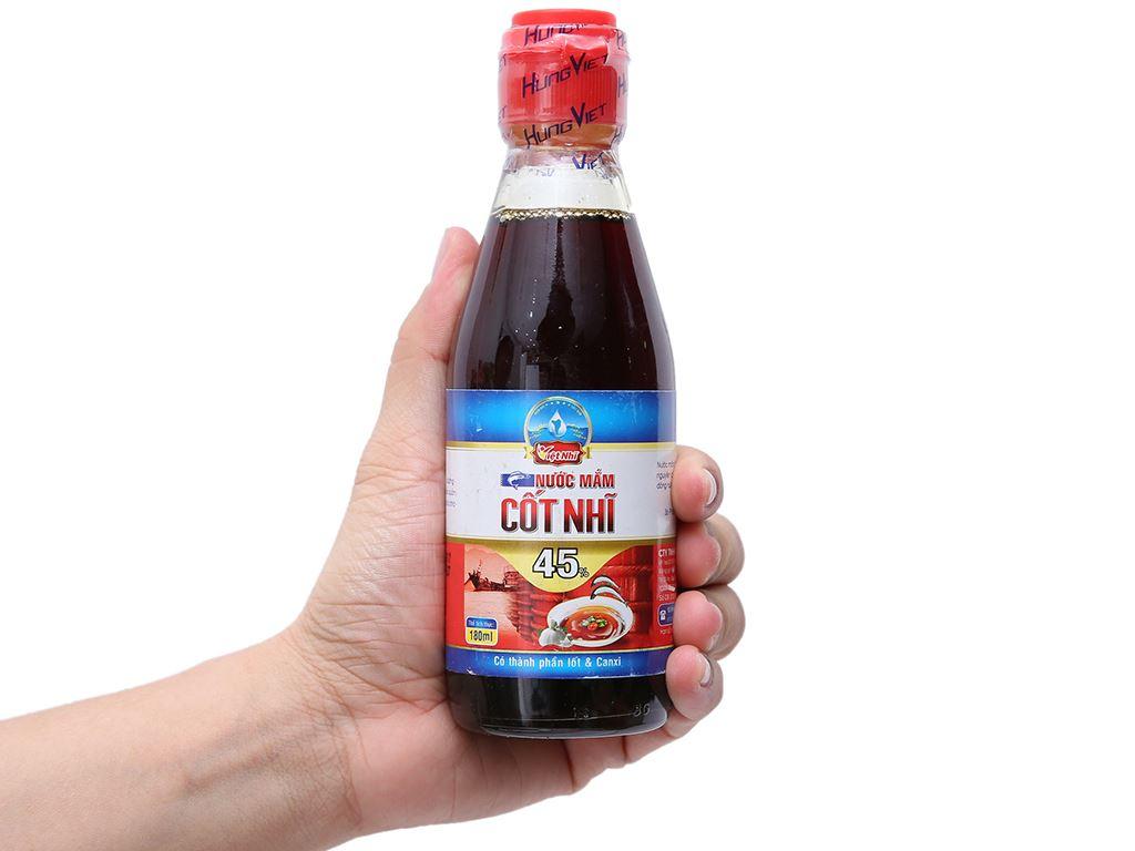 Nước mắm cốt nhĩ 45% Việt Nhĩ chai 180ml 3