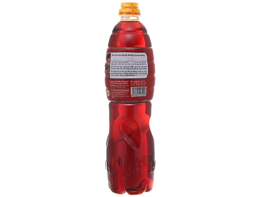 Nước mắm Liên Thành nhãn đỏ chai 900ml 2