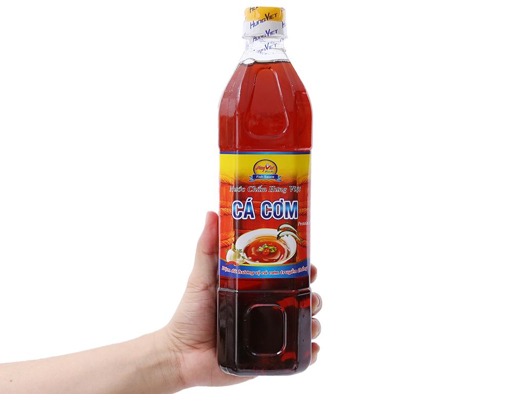 Nước chấm cá cơm Hưng Việt chai 900ml 3