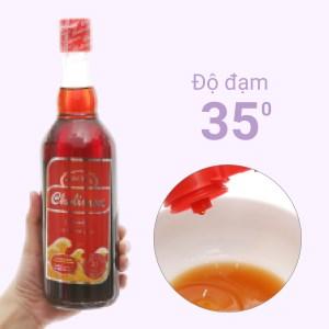 Nước mắm cá cơm Phú Quốc Cholimex loại đặc biệt 35 độ đạm chai 500ml