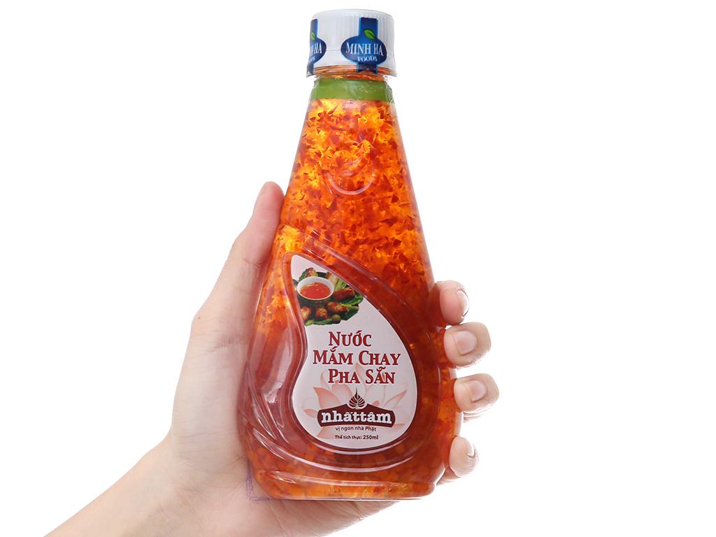Nước mắm chay pha sẵn Nhất Tâm Minh Hà chai 250ml 3