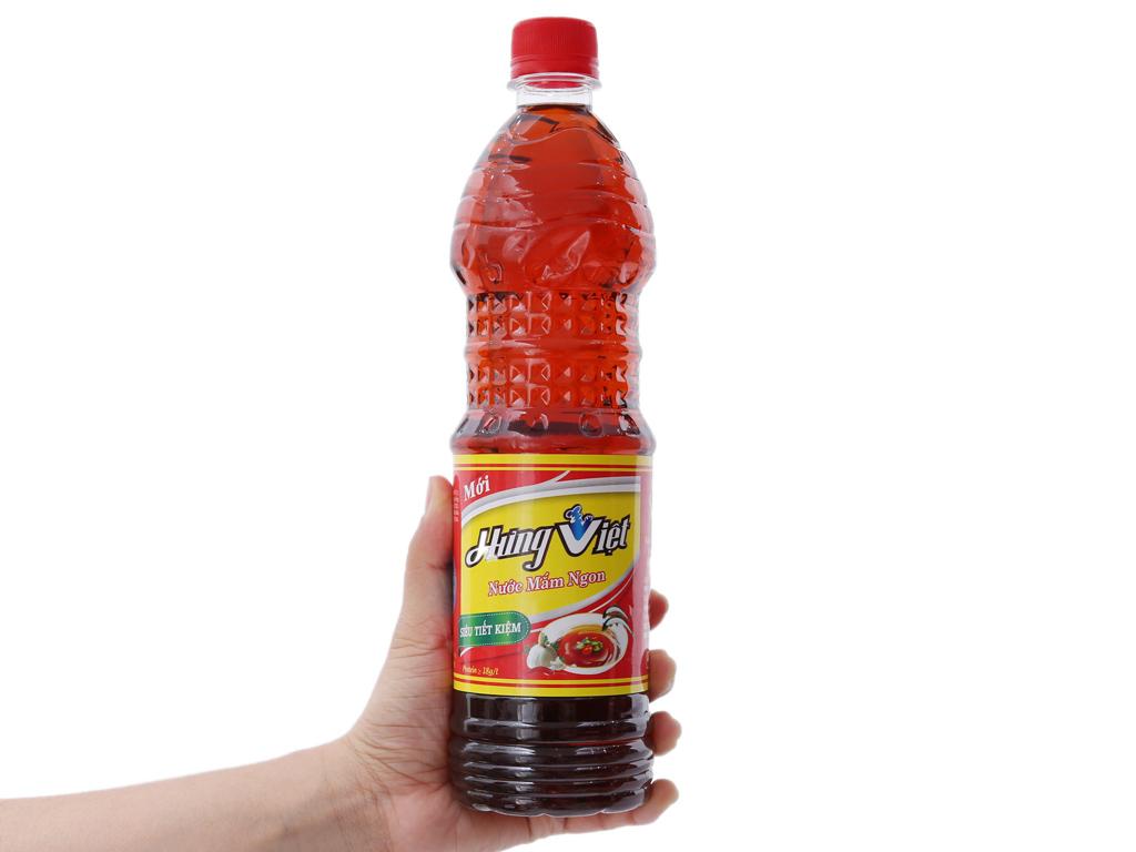 Nước mắm ngon Hưng Việt chai 800ml 3