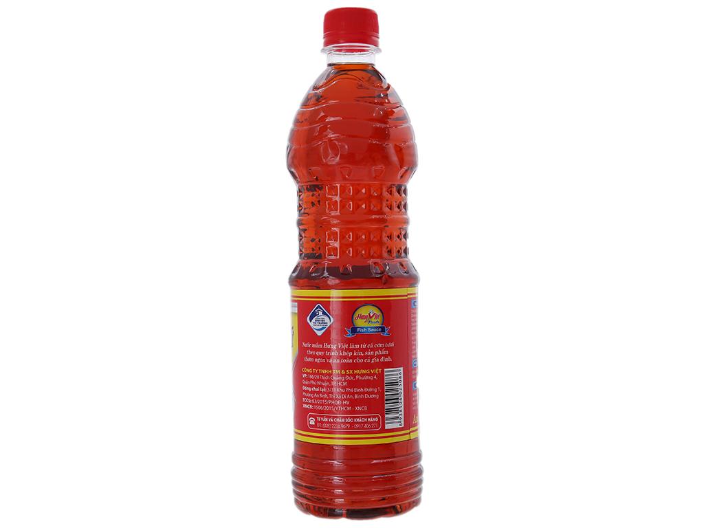 Nước mắm ngon Hưng Việt chai 800ml 2