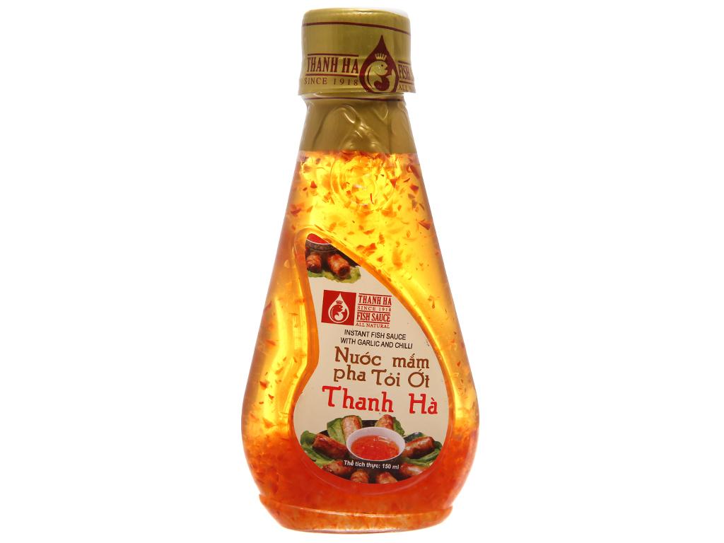 Nước mắm tỏi ớt pha sẵn Thanh Hà chai 150ml 1