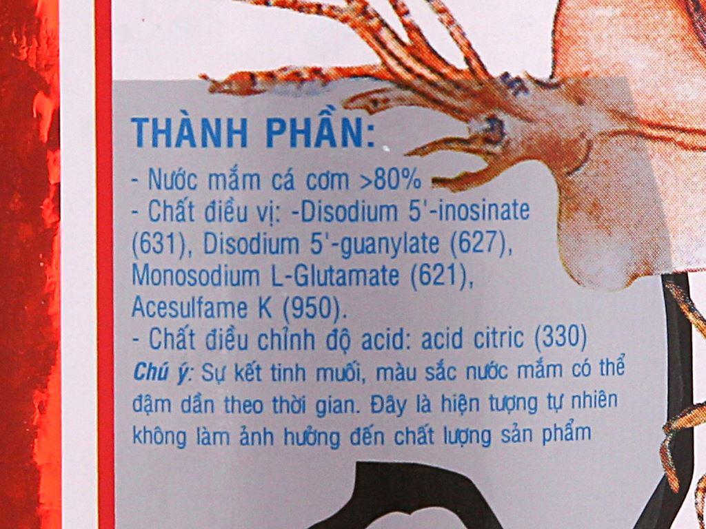 Nước mắm cá cơm Hưng Thịnh 15 độ đạm chai 620ml 3