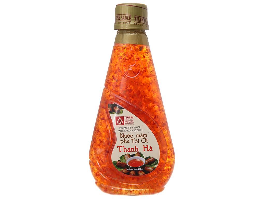 Nước mắm pha tỏi ớt Thanh Hà chai 250ml 1