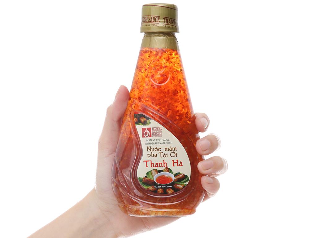 Nước mắm pha tỏi ớt Thanh Hà chai 250ml 3