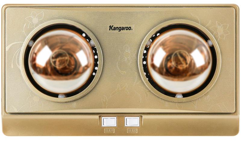 Thiết kế đẹp mắt, tinh xảo - Đèn sưởi Kangaroo KG247V
