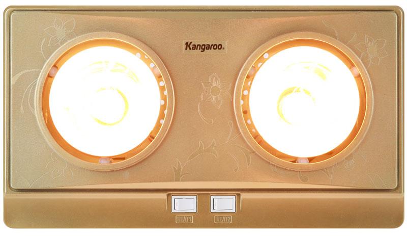 Làm ấm bằng khúc xạ tia hồng ngoại - Đèn sưởi Kangaroo KG247V