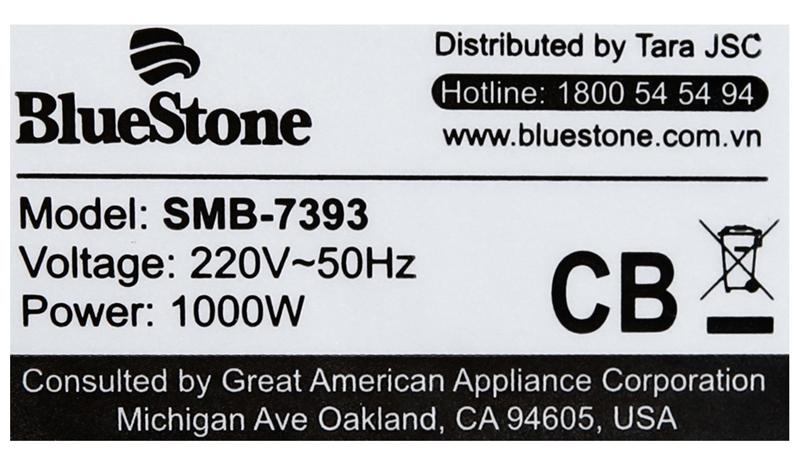Nấu nhanh - Máy làm sữa đậu nành Bluestone SMB-7393 1.3 lít