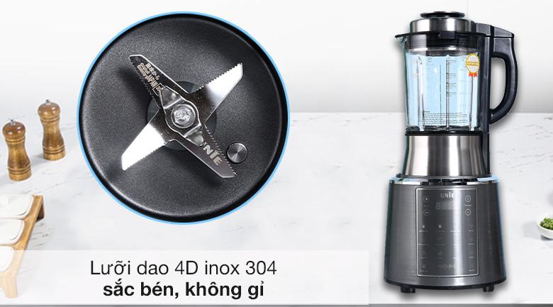 Máy làm sữa hạt Unie V6S - Lưỡi dao 4D