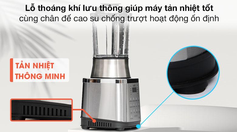 Lỗ thoáng khí lưu thông tản nhiệt - Máy làm sữa hạt Unie V8S