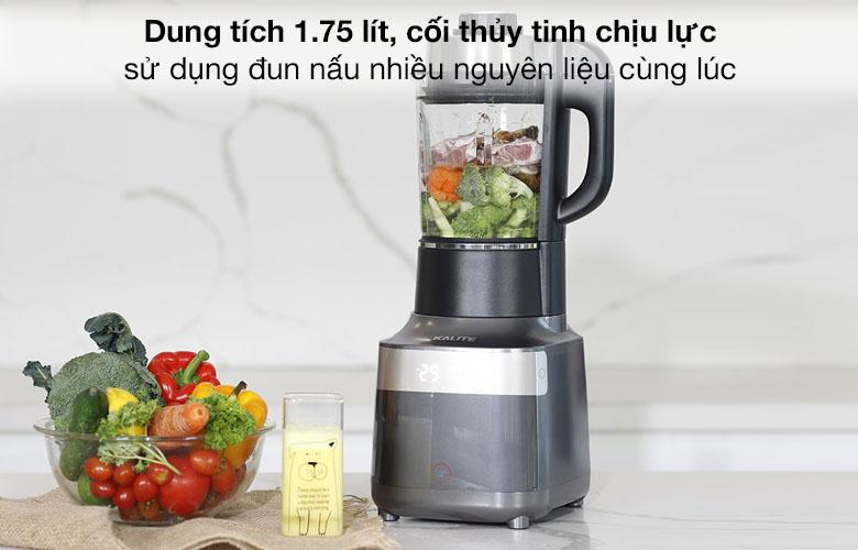 Dung tích 1.75 lít - Máy làm sữa hạt Kalite KL PRO 900