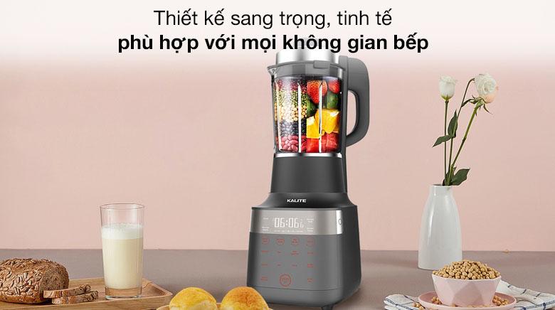 Thiết kế sang trọng - Máy làm sữa hạt Kalite KL PRO 900
