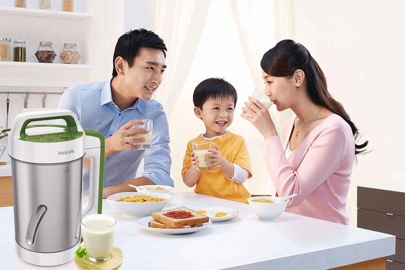 Máy làm sữa đậu nành Philips HD2052 1.2 lít