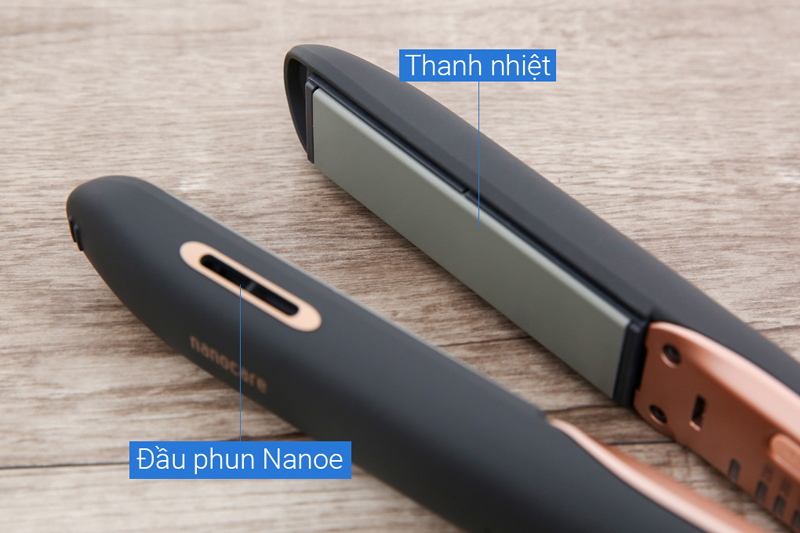 Cung cấp nanoe dưỡng ẩm - Máy tạo kiểu tóc Panasonic EH-HS99-K645