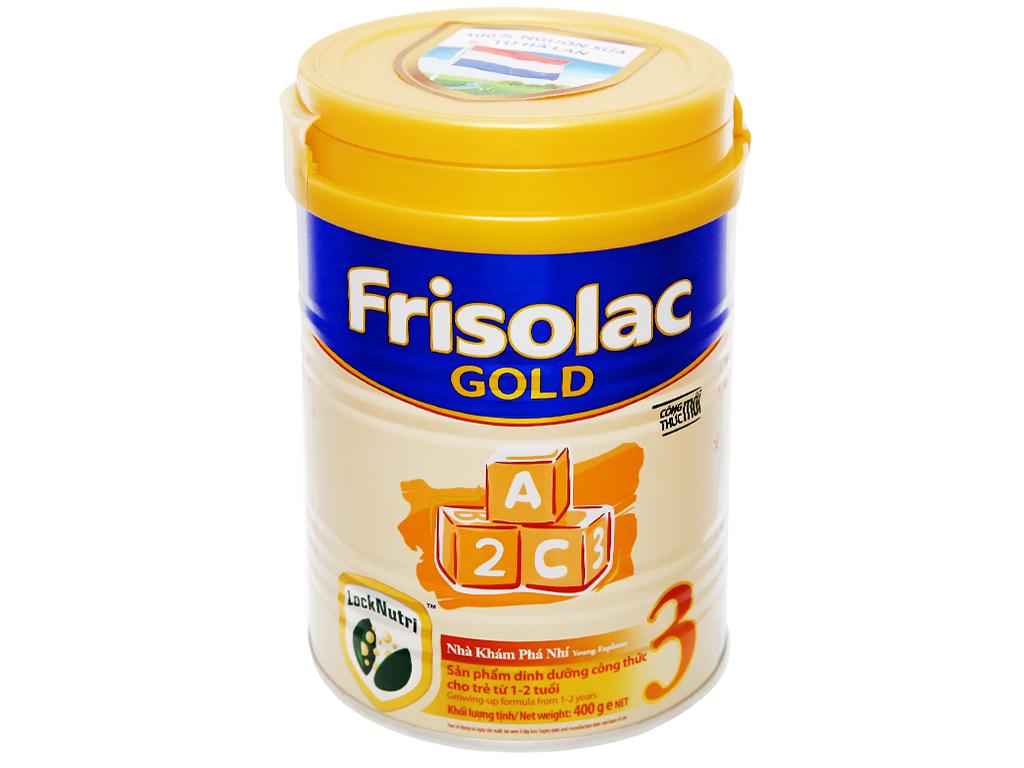 Sữa bột Frisolac Gold 3 lon 400g (1 - 2 tuổi) 6