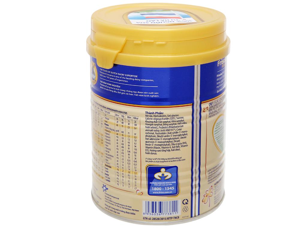 Sữa bột Frisolac Gold 3 lon 400g (1 - 2 tuổi) 8