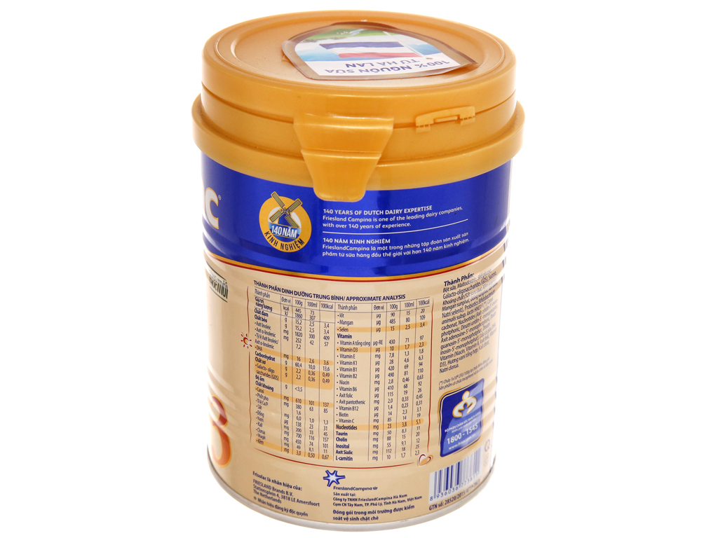 Sữa bột Frisolac Gold 3 lon 400g (1 - 2 tuổi) 3