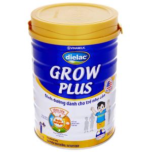 Sữa bột Dielac Grow Plus 1+ Xanh lon 900g (1 - 2 tuổi)
