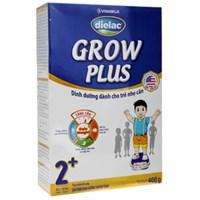 Sữa bột Dielac Grow Plus 2+ hộp xanh 400g