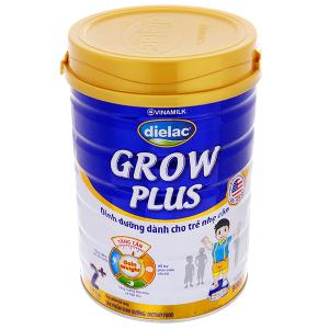 Sữa bột Dielac Grow Plus 2 + Xanh lon 900g (2 - 10 tuổi)
