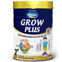 Sữa bột Dielac Grow Plus 2+ lon xanh 900g