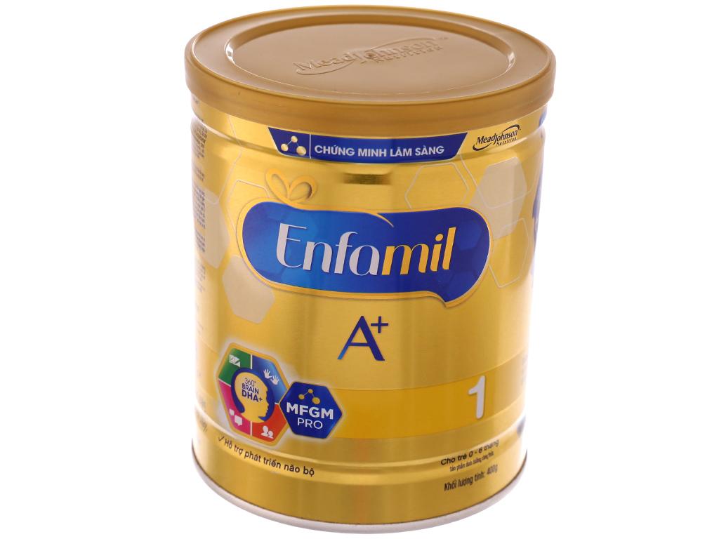Sữa bột Enfamil A+ 1 lon 400g (0 - 6 tháng) 2