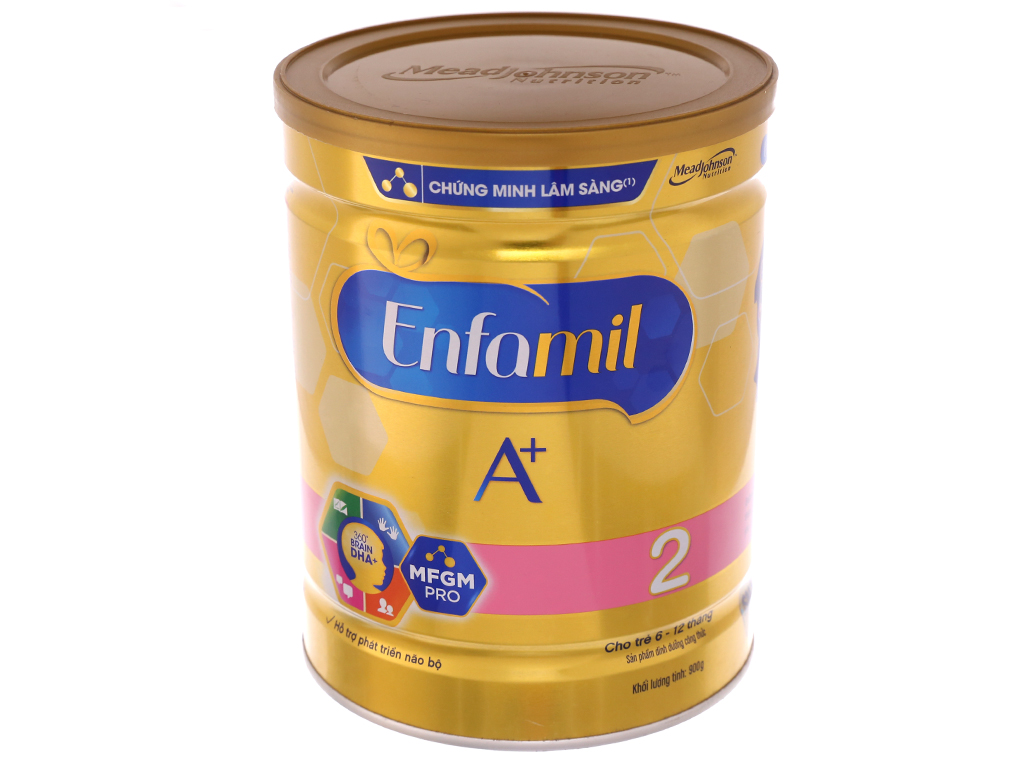 Sữa bột Enfamil A+ 2 lon 900g (6 - 12 tháng) 2
