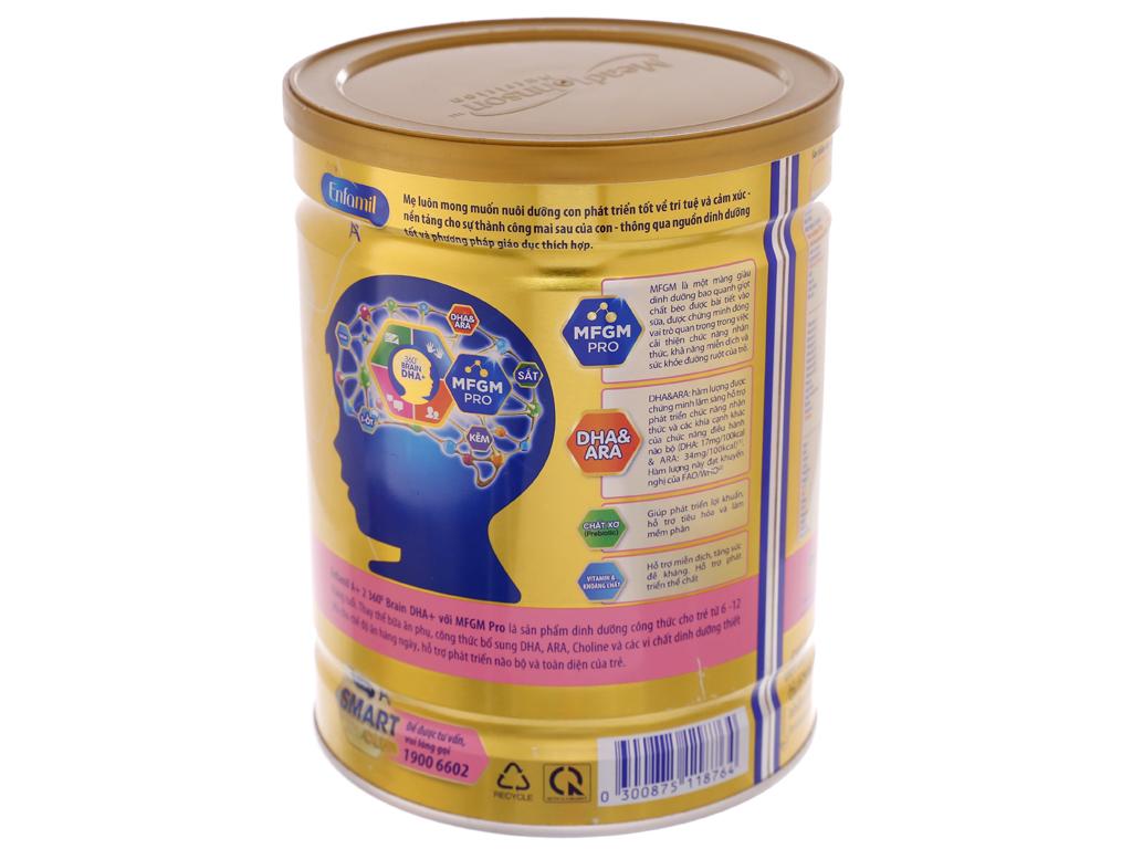 Sữa bột Enfamil A+ 2 lon 900g (6 - 12 tháng) 3