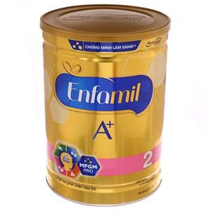 Sữa bột Enfamil A+ 2 360° Brain DHA+ Với MFGM Pro lon 1,7kg (6 - 12 tháng)